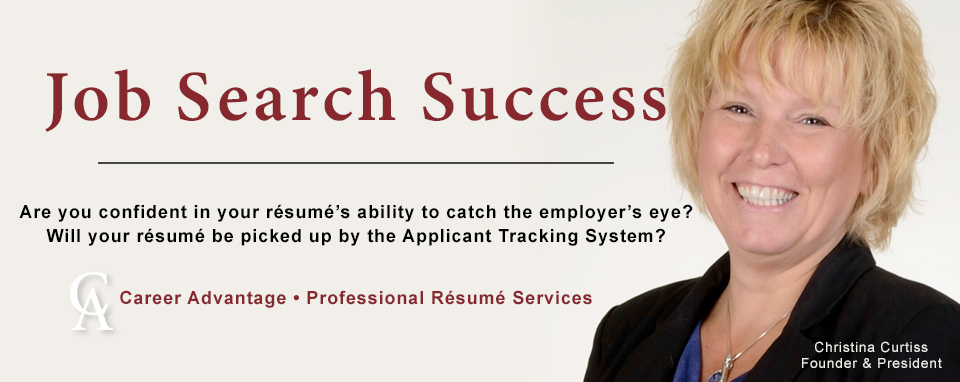 Home Career Advantage Certified Professional Resume Writer Cprw
